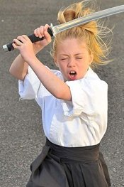英国9岁武术神童