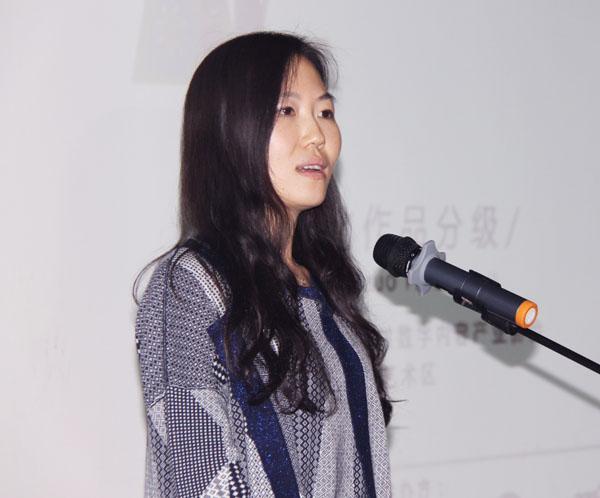 儿童DIY微漫画大赛主题沙龙一:海淀宣传部徐文莎