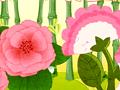 蔷薇与鸡冠花