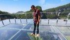 重庆最大悬挑玻璃眺台