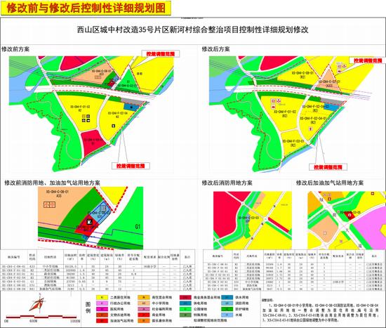 """西山区新河村地块""""商改住""""华夏阳光地产介入开发"""