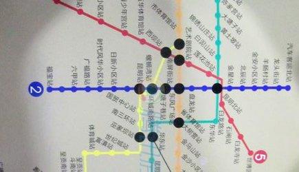 昆明3号线地铁线路图-楼盘360 测评第1期 莲花池 国际商贸城 国际