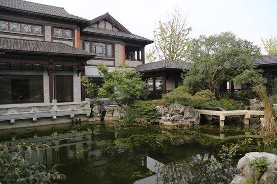 这才是中国式优雅,中式庭院别墅,艳羡十里图片