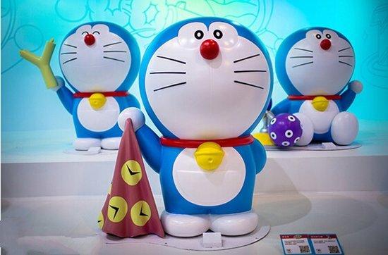 蓝胖子空降保利大家 机器猫主题展重温童年图片