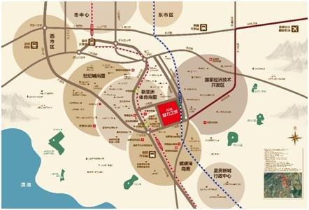 【踩盘】万科魅力之城:完善配套助推品质生活大城