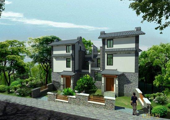 中国最美的原生态白族建筑别墅群剑苑项目介绍别墅院子效果图平面图片