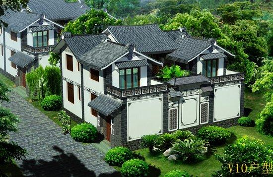 中国最美的原生态白族介绍别墅群剑苑山地建筑规范项目别墅图片