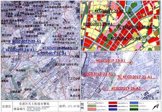 巫家坝4个打包地块约489.4亩土地被房企以69.9亿瓜分