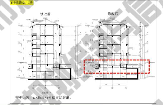 澜庭4-5号商业总建面取消缩减3栋图纸地下夹铝塑板地块图片