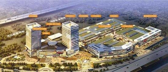 建伟国际汽车城15万方巨舰 5月20日盛大开工高清图片