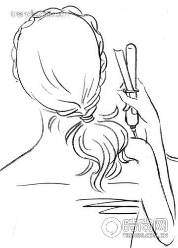 简单5步diy空气感侧扎发辫