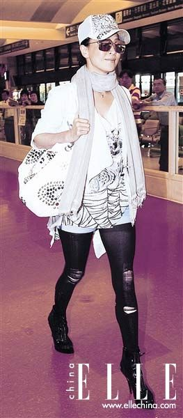 破造型正流行女星破洞性感情趣狂野_v造型-服丝袜女服汉图片