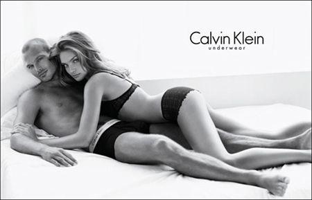 顶级球星永贝里与世界超模联袂献身CK内裤
