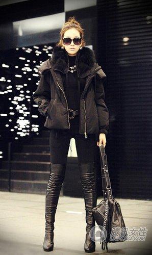 长短外套各千秋OL冬日暖暖搭