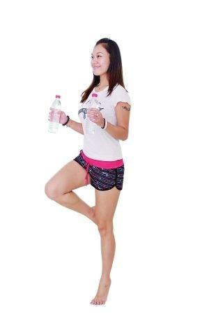 矿泉水瓶排毒操 减肥很简单