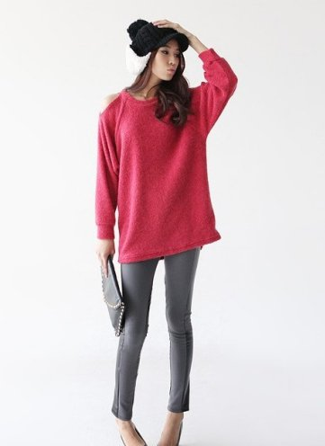 旧款关键新搭配撞色+高跟鞋是毛衣卖赚钱情趣用品网上吗图片