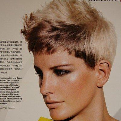 欧美发型打造前卫新潮范儿(组图)