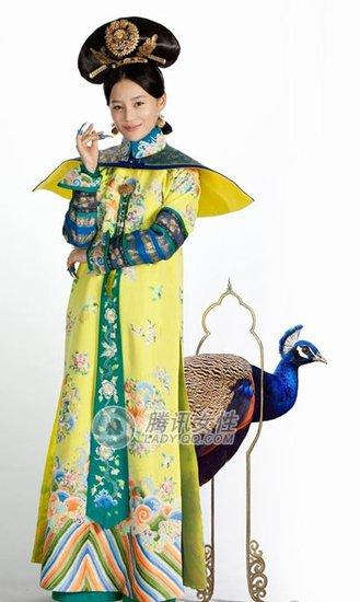 清宫剧女主角争奇斗艳拼身材