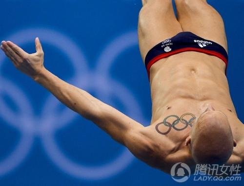林丹纹身 引爆奥运最潮元素图片