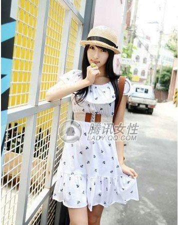 夏季服装图片-夏季服装搭出甜美女孩范儿