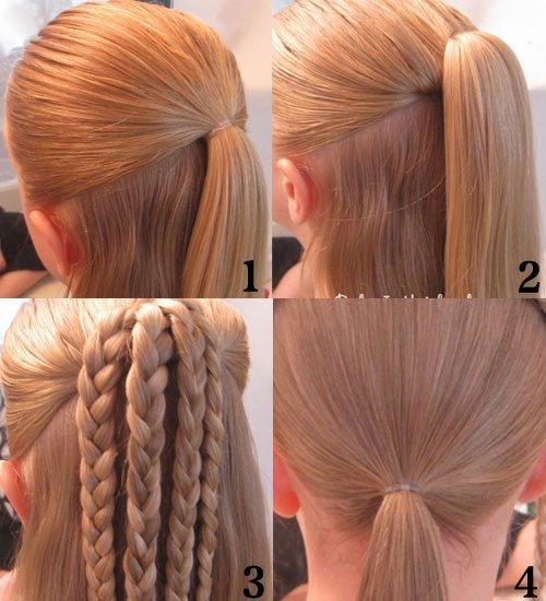编发_37种漂亮头发的编发