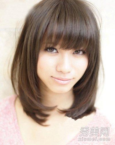 日系萌感发型女生扮嫩最爱(组图)奶灰色短头发图片图片
