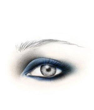 手绘妆面创意设计图