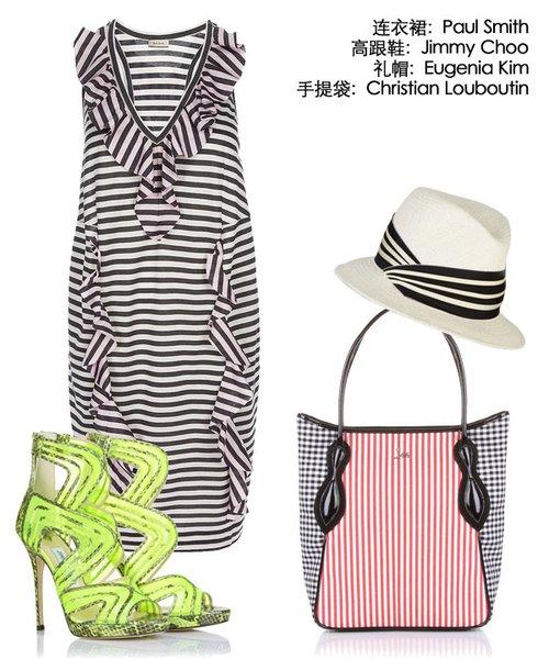 条纹纵横,2011春夏时装趋势之二