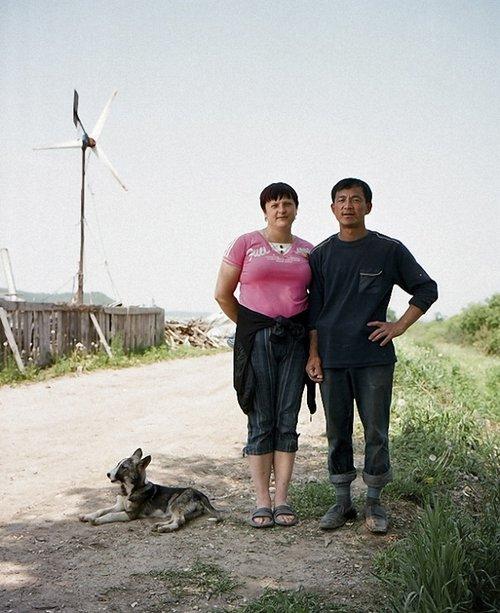 盘点:娶了俄罗斯美女的中国农民