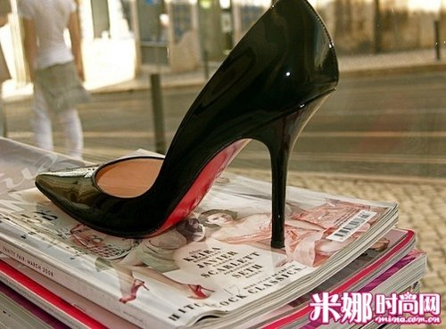 Possession of a pair of beauty to make you paranoid high heels
