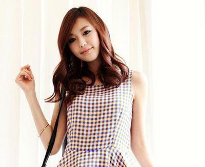 2011年夏季韩国街拍女生发型 很多美美少女最爱的look