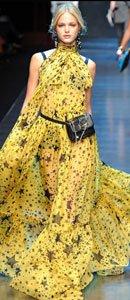 隋棠身着Dolce & Gabbana 2011系列星星裙