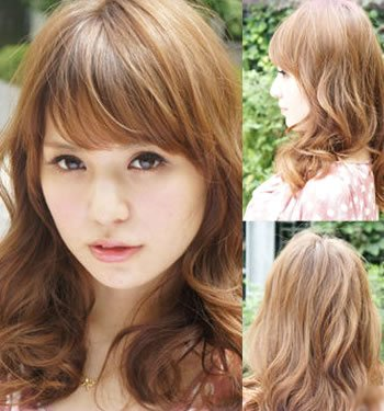 10款日本最新修饰脸型长发(组图)