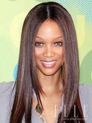 tyra banks hair colour. Tyra Banks