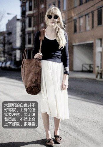白色服饰怎么搭配才有强大气场?(图5)
