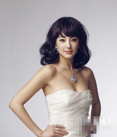 张雨绮8月新娘发型 大猜想(组图)图片