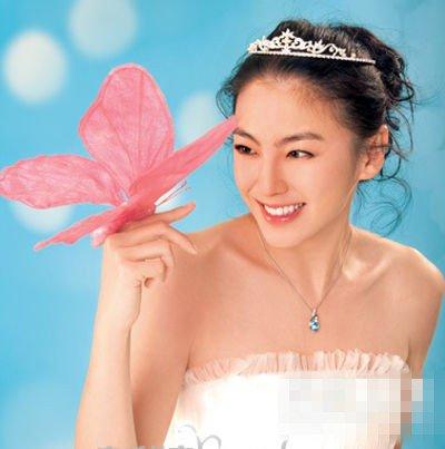 张雨绮8月新娘发型大猜想图片