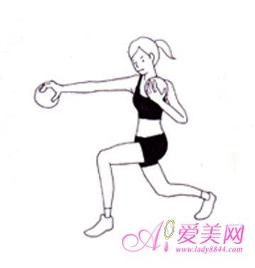 3式健身球操 纤腰瘦腿瘦手臂