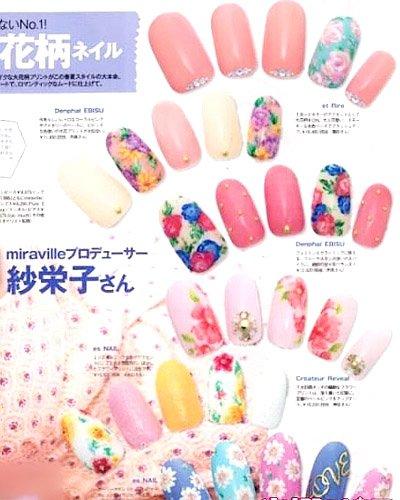 缤纷指尖花朵の糖果の水波纹