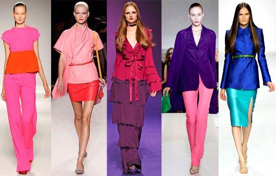 色彩方程式,2011春夏时装趋势之三