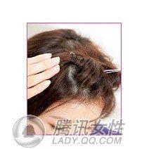 可爱小饰物打造5款风情短发(图)