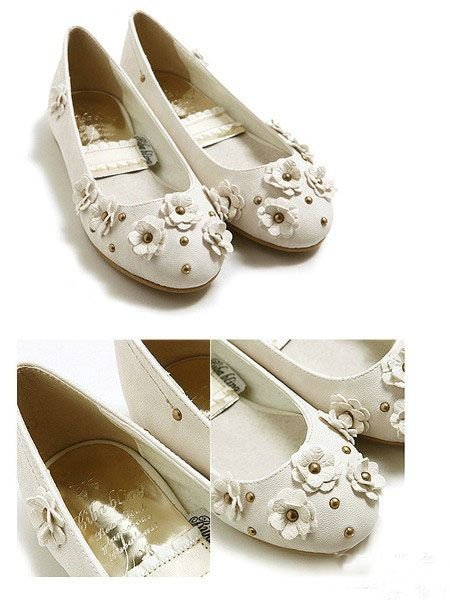 生如夏花般的美丽花朵单鞋,此款单鞋,不是  大花点缀与鞋面,...