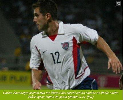 [联合会杯]美国豪言决赛复仇 10年未胜巴西队