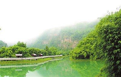 沐川:山水有清音 弹响田园曲 休闲消暑生态园