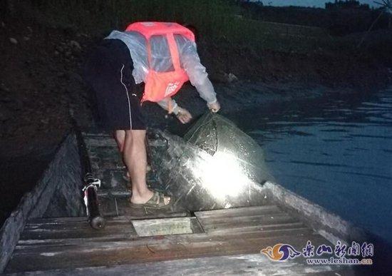 环保曝光:乐山河流众 非法捕捞野生鱼几时休?