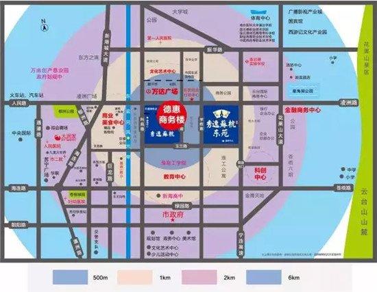 港城地标商务之巅 德惠商务楼全球启幕在即图片