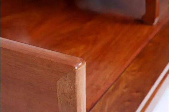 缅甸花梨三围独板马蹄足罗汉床