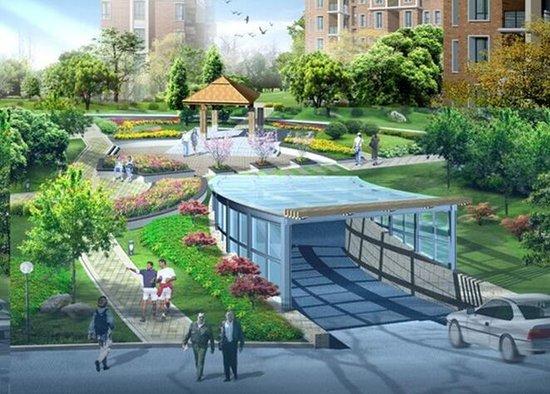 首开玫瑰园全线公开 汇丰小镇耀目全城