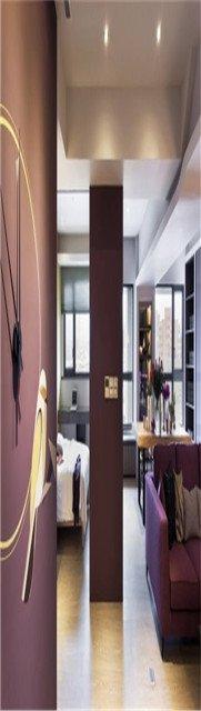 100平米现代简约时尚两居室美