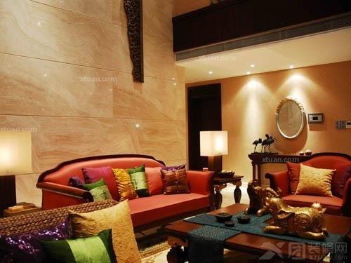 东南亚风格田园气息的家装